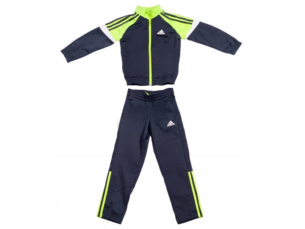 Dres Dziecięcy Adidas KOMPLET Bluza Spodnie AB5209