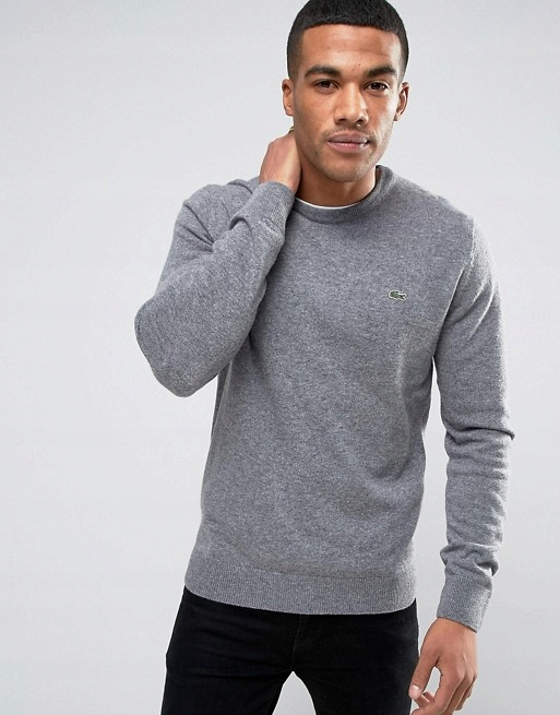Lacoste Sweter Rozmiar M Polo Men Męski Cotton