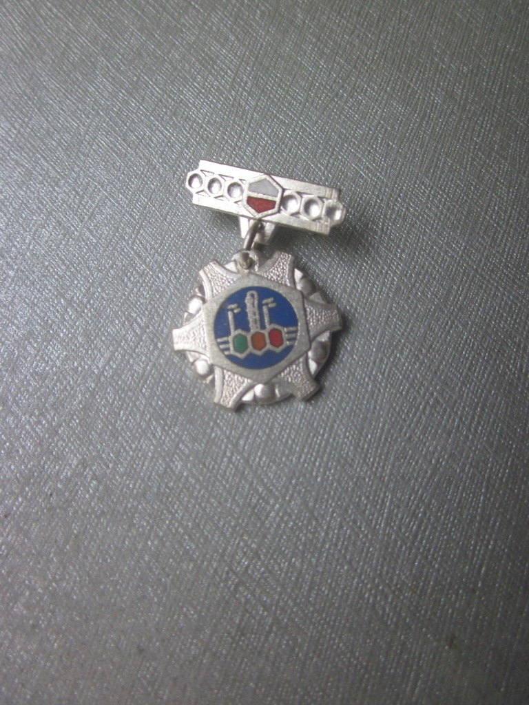 Odznaka Za Zasługi Dla Przemysłu Chemicznego3-mini