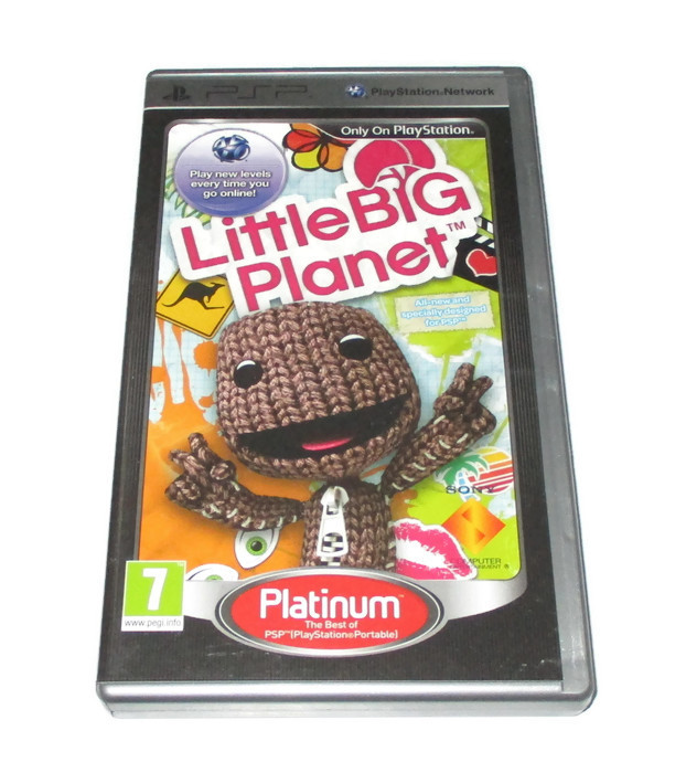 Gra Psp Little Big Planet Umd Dla Dzieci 7760059620 Oficjalne Archiwum Allegro