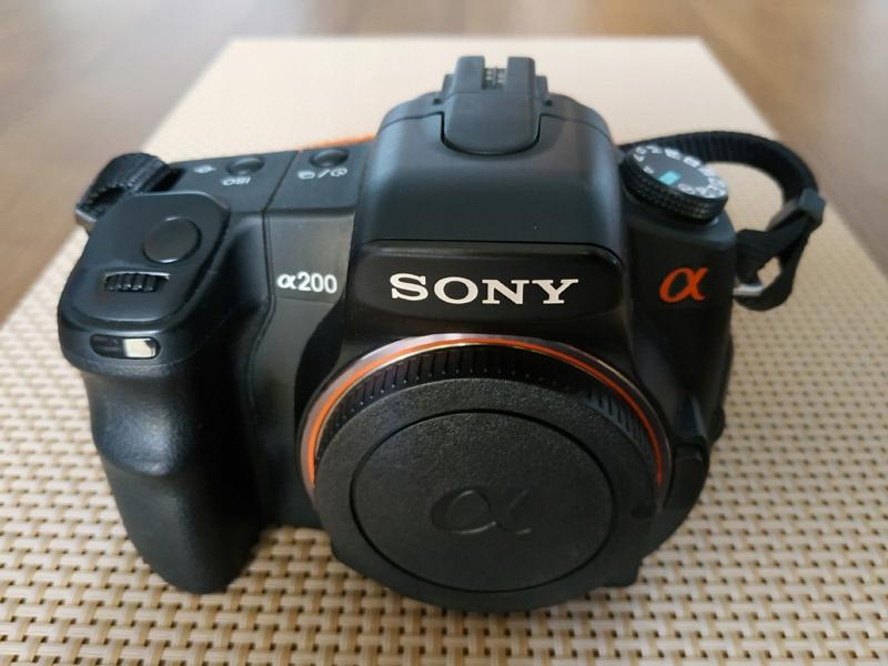 Sony Alpha Dslr A200 Body Gratisy 9380153135 Oficjalne Archiwum Allegro