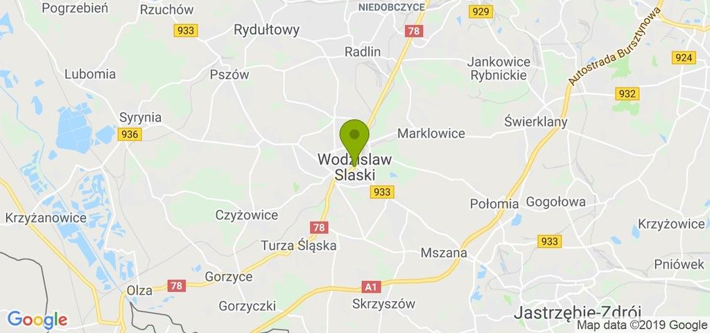 Działka Wodzisław Śląski, wodzisławski, 7000,00 m²