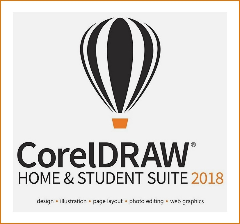 CorelDRAW 2018 Home and Student PL Corel DRAW 2st