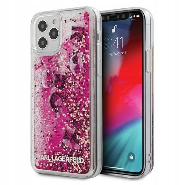 Etui Karl Lagerfeld KLHCP12MROPI Apple iPhone 12/1