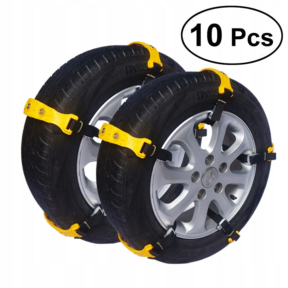 10 sztuk Łańcuchy bezpieczeństwa samochodu Trakcja