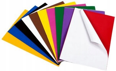 200 Self adhesive Sticky Craft Foam craft shapes assorted colours