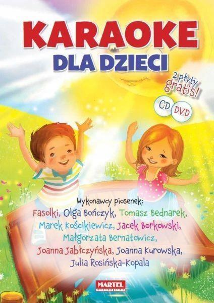 KARAOKE DLA DZIECI + CD + DVD TW, PRACA ZBIOROWA