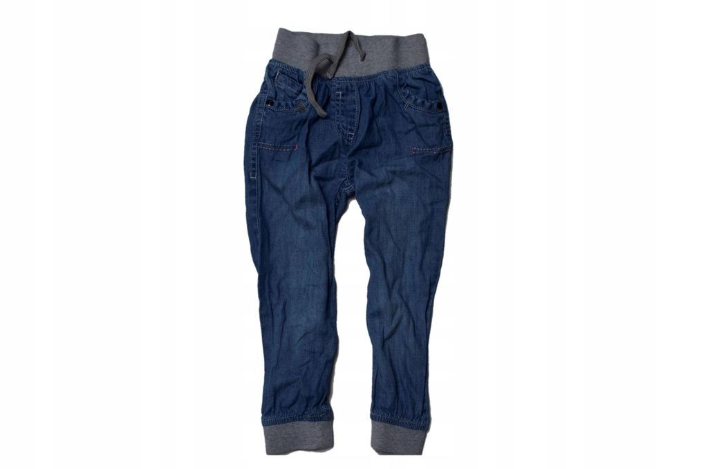10 next spodnie jeansowe jeansy 98