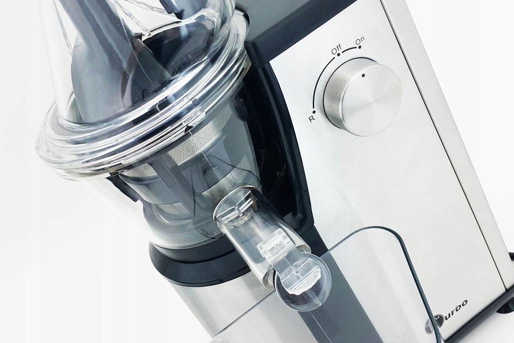 Archiwalne: Wyciskarka wolnoobrotowa Zalman turbo moc 400w