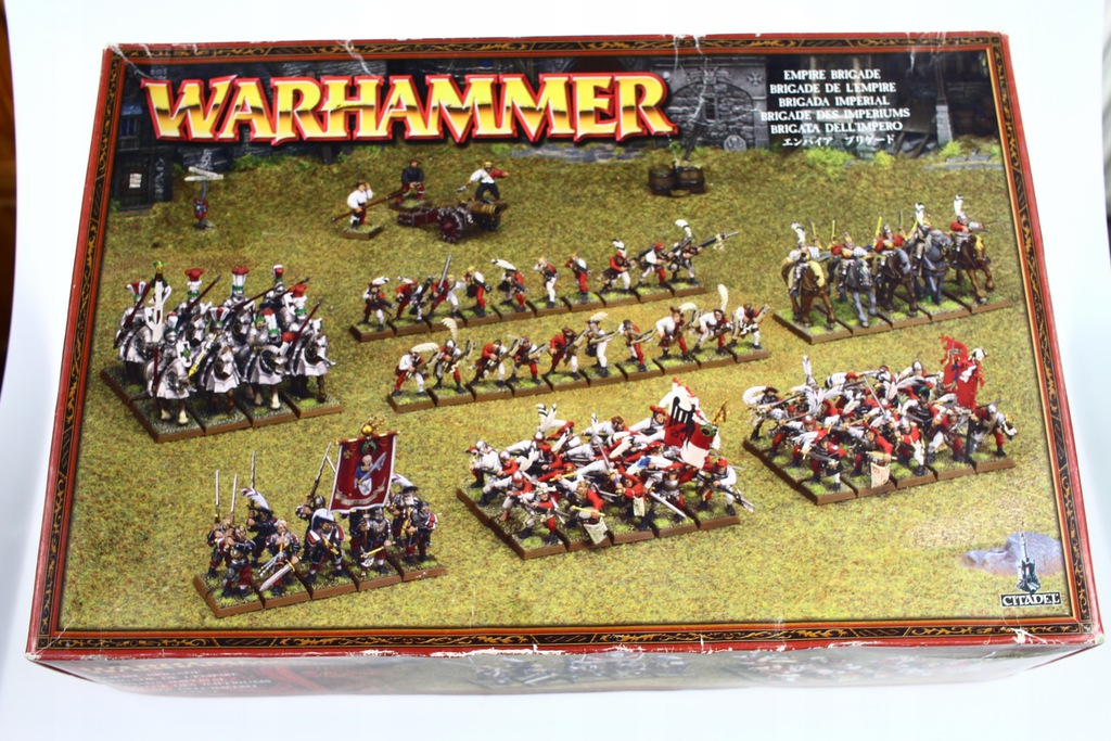 Warhammer Empire Brigade puste pudełko