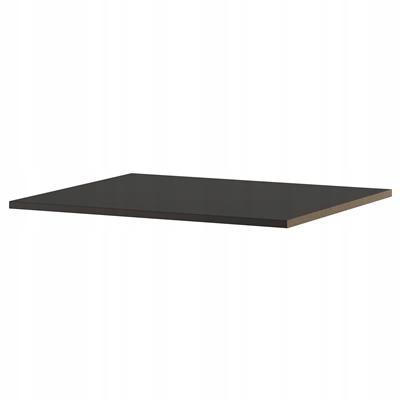 IKEA KOMPLEMENT Półka, czarnobrąz 75x58 cm