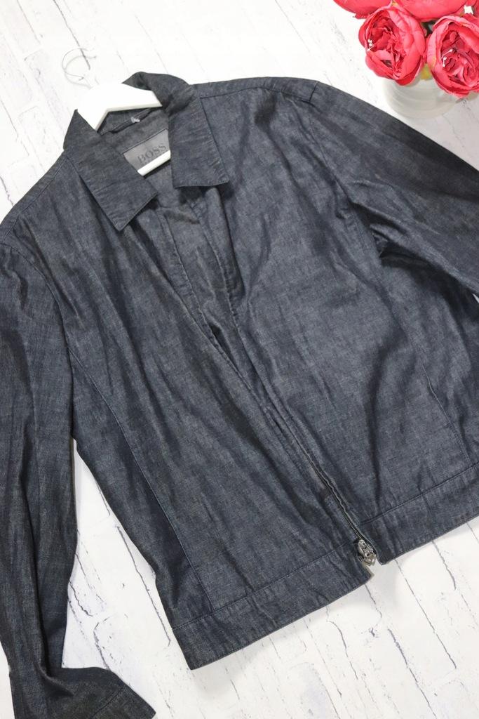 HUGO BOSS * granatowa jeansowa katana RODEO 54
