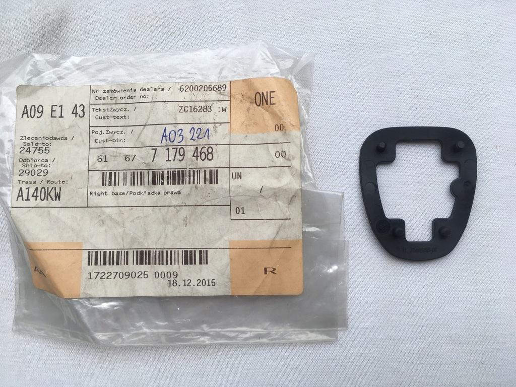 Podkładka dyszy spryskiwacza R BMW E81 E82 E87 E88