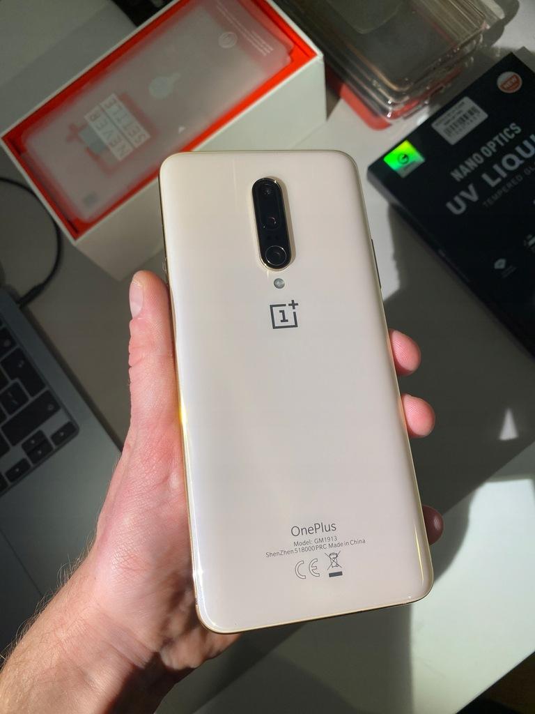 Smartfon OnePlus 7 Pro 8 GB / 256 GB złoty NTT