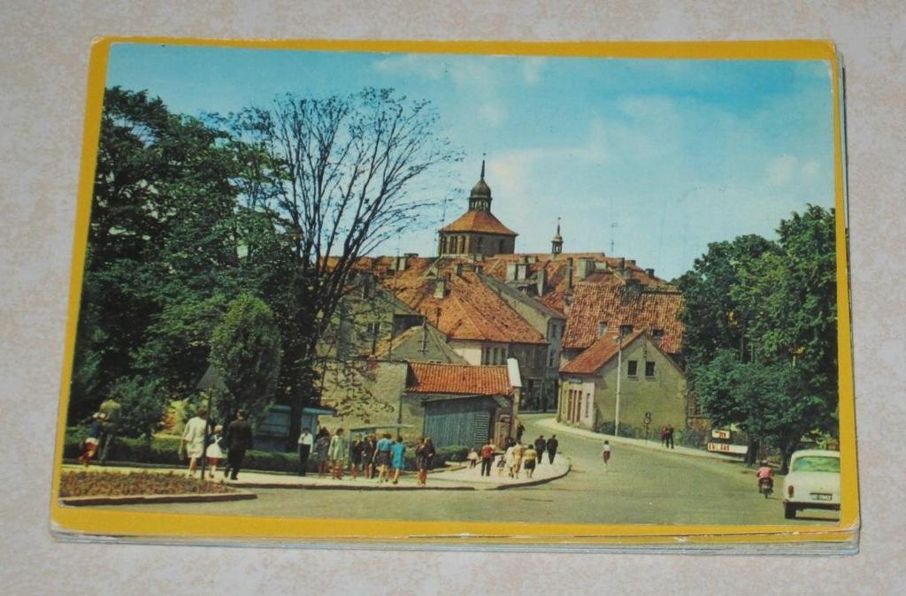Zestaw 16 pocztówek Bartoszyce (z981)