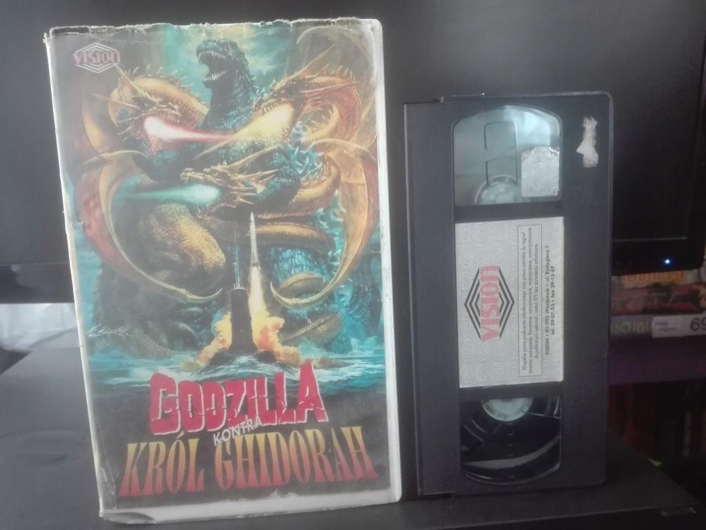 GODZILLA Kontra Król Ghidorah - Kaseta VHS