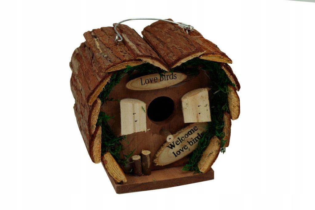 Domek lęgowy dla ptaków karmnik dziupla budka