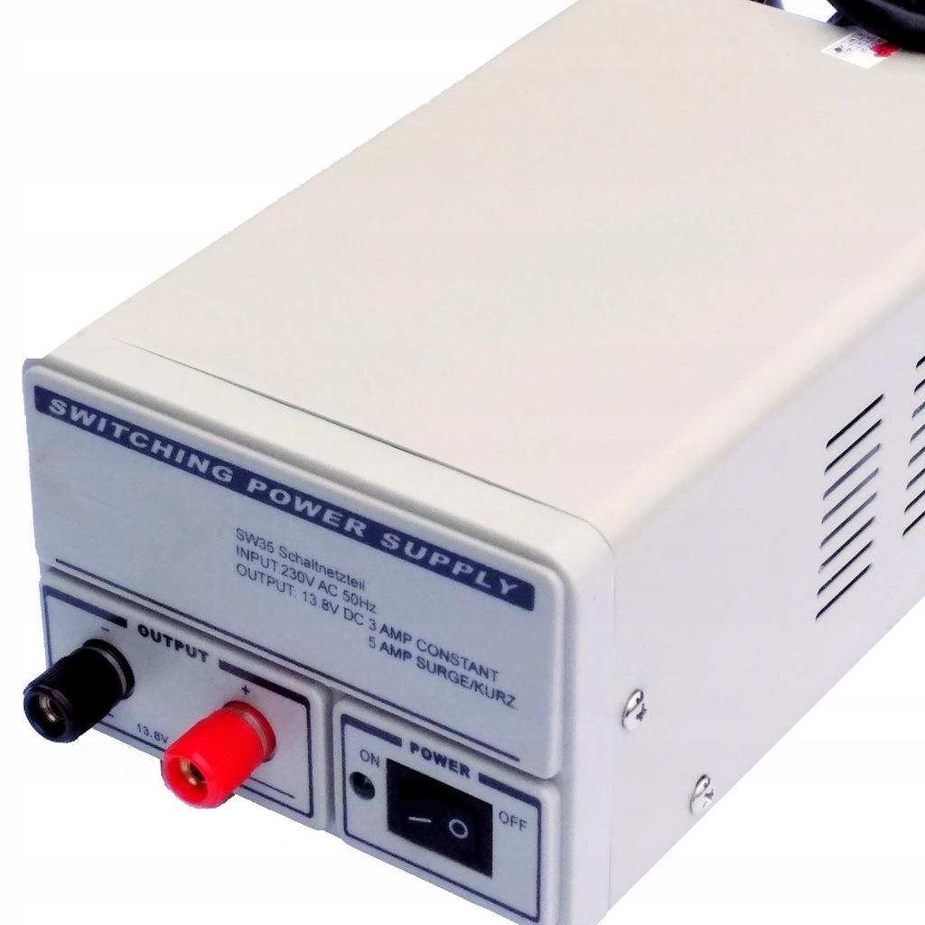 Zasilacz impulsowy 7A Jetfon PC-F7