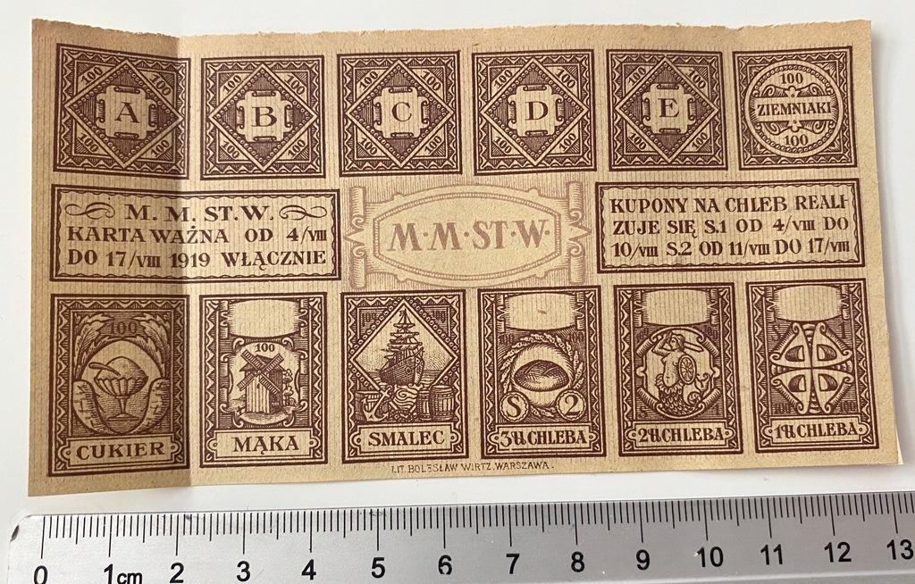 3683. Warszawa okres 100