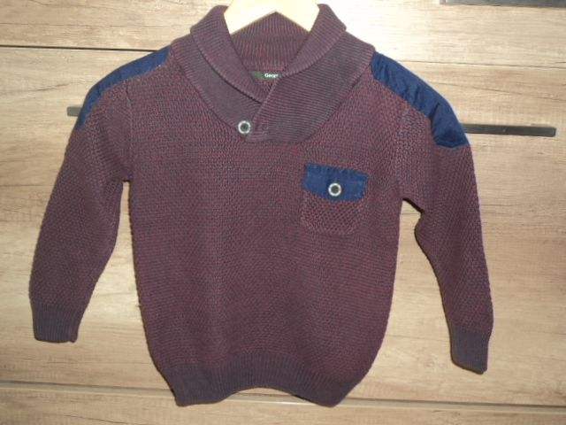 Sweter 110 / 116 sweterek chłopięcy george