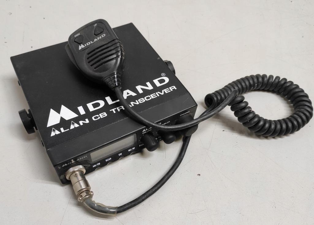 CB RADIO MIDLAND ALAN78 + GRUSZKA BCM