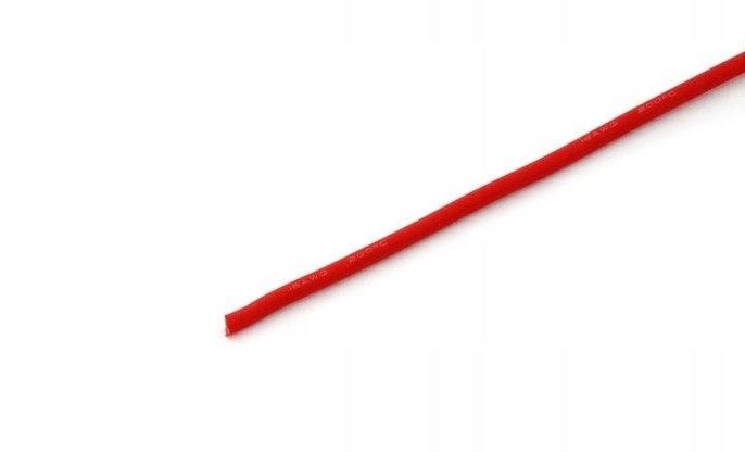 Przewód silikonowy 1,7 mm2 (15AWG) (czerwony) 1m