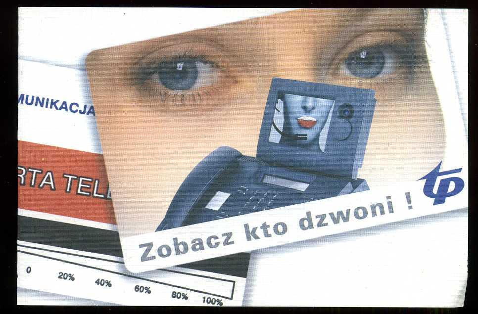 KARTA TELEFONICZNA - PUSTY KARNET