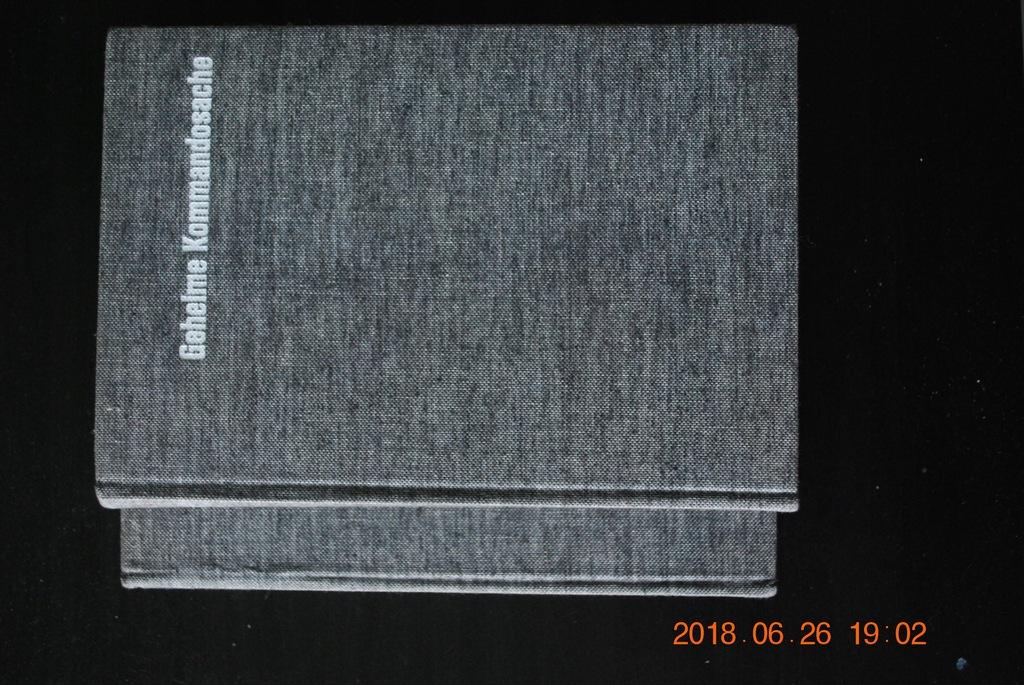 Operacje komandosów j.niem/ 2 Tomy 1969 r.