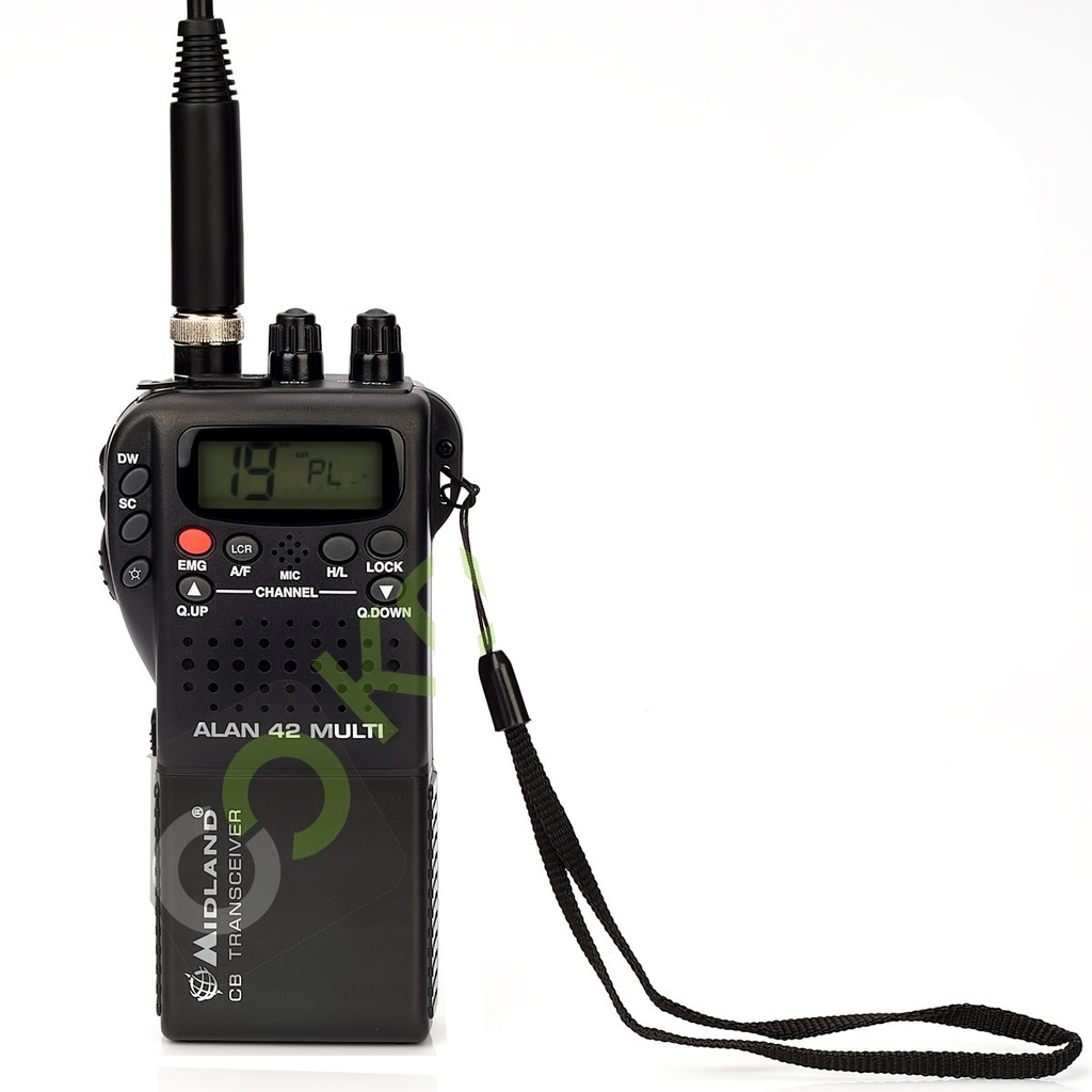 ALAN 42 PLUS MULTI RADIOTELEFON CB RĘCZNY+ADAPTER