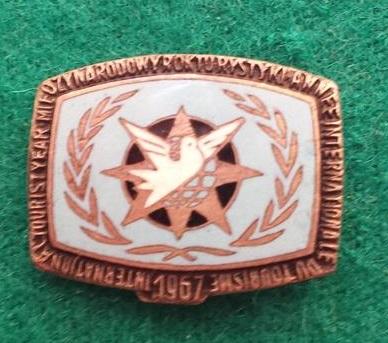 Odznaka-Międzynarodowy Rok Turystyki 1967r. (1)