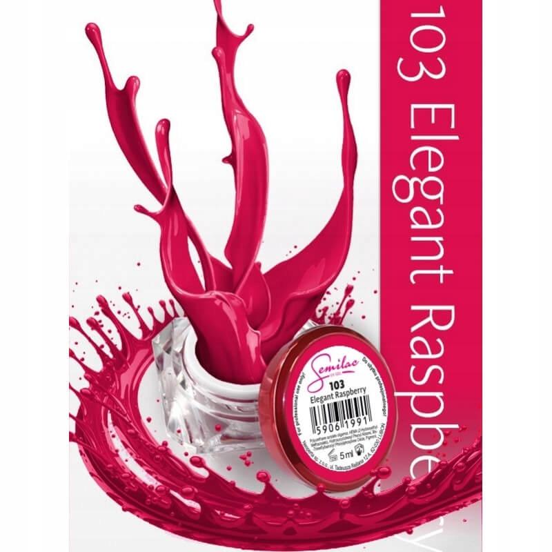 Semilac UV żel kolorowy 103 Elegant Raspberry 5ml