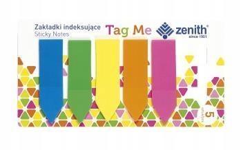 Zakładki indeksujące Tag Me 5 kolorów ZENITH