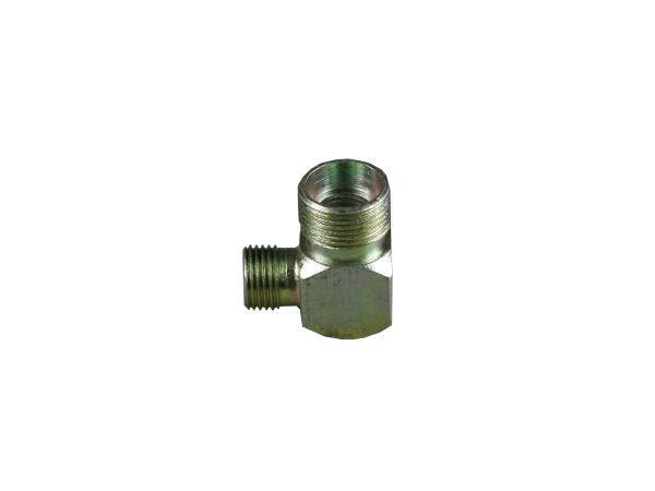 Kolanko hydrauliczne metryczne BB 90 22/16 M22x1.5