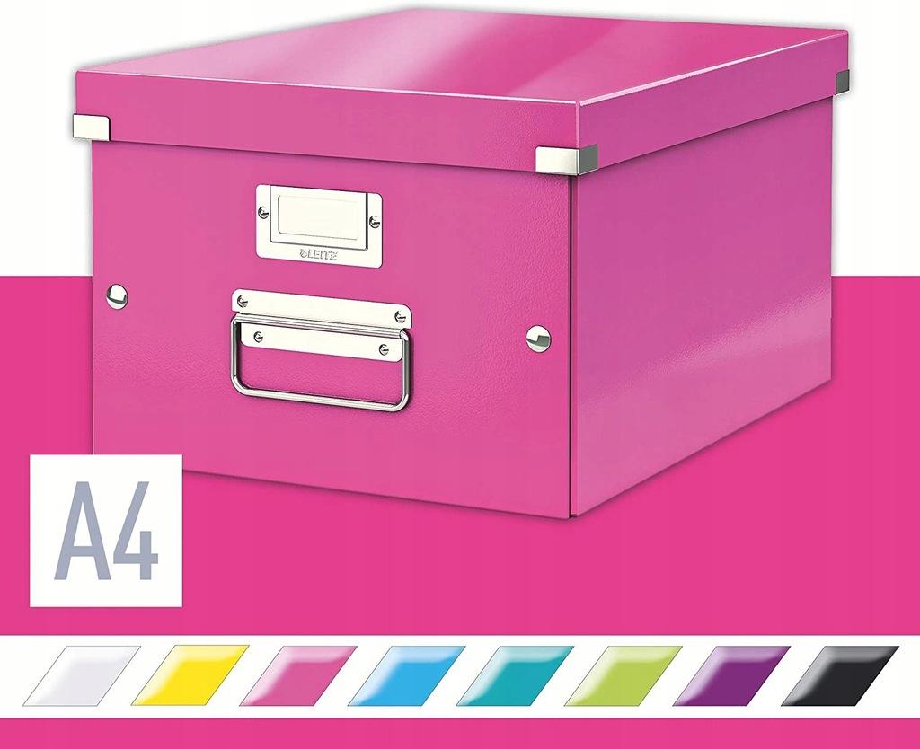 E8 Pudło uniwersalne Leitz Click&Store Wow A4