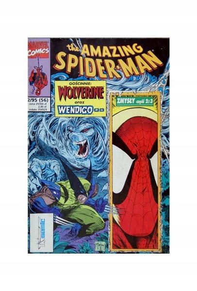 DB+ SPIDER-MAN 56 2/95 WOLVERINE: Zmysły #2,3