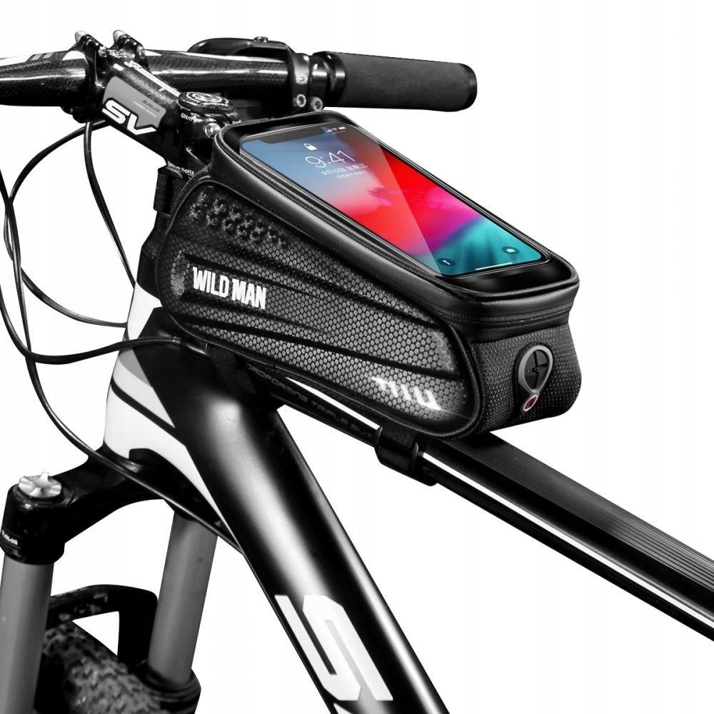 Sakwa rowerowa WildMan Hardpouch Bike Mount L Blac