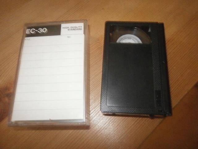 Kaseta VHS-C EC-30