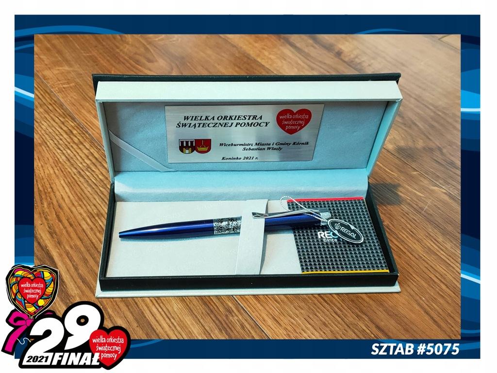 Długopis REGAL od Wiceburmistrza Kórnika WOŚP#5075