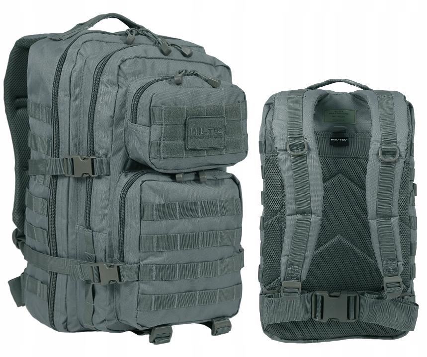 MIL-TEC US ASSAULT Taktyczny Plecak 36L FOLIAGE