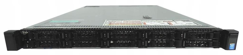 DELL R630 2X8C E5-2630L V3 64GB 1TB SSD H330 NVME