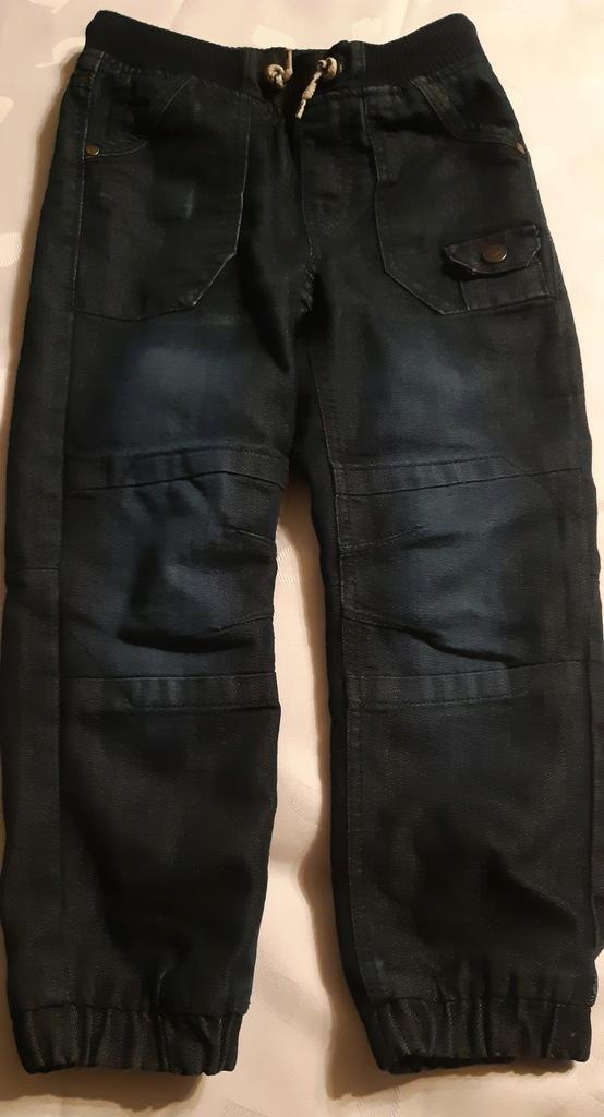 Spodnie ocieplane rozm. 122 Cool Club jeans