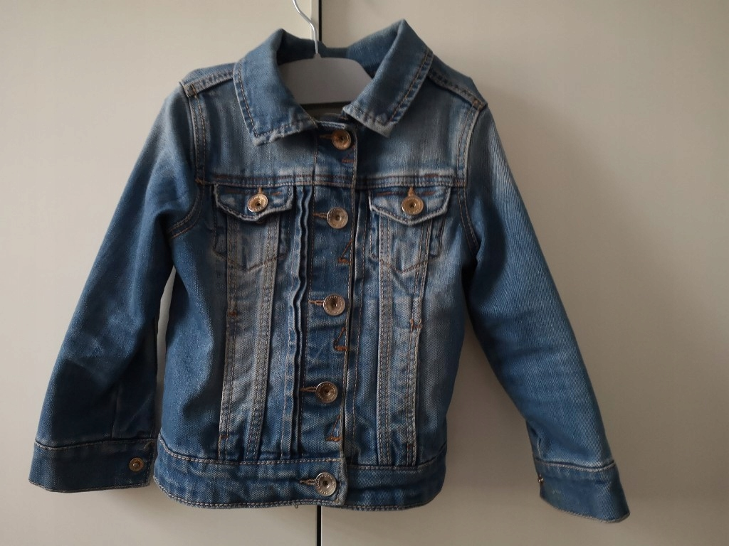 kurtka jeansowa katana Zara 104