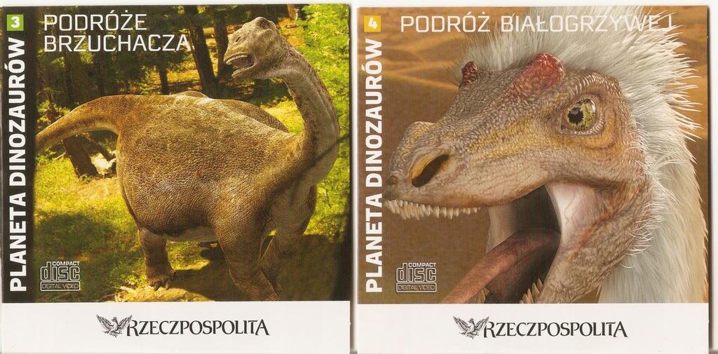 Planeta dinozaurów część 1, 2, 3, 4