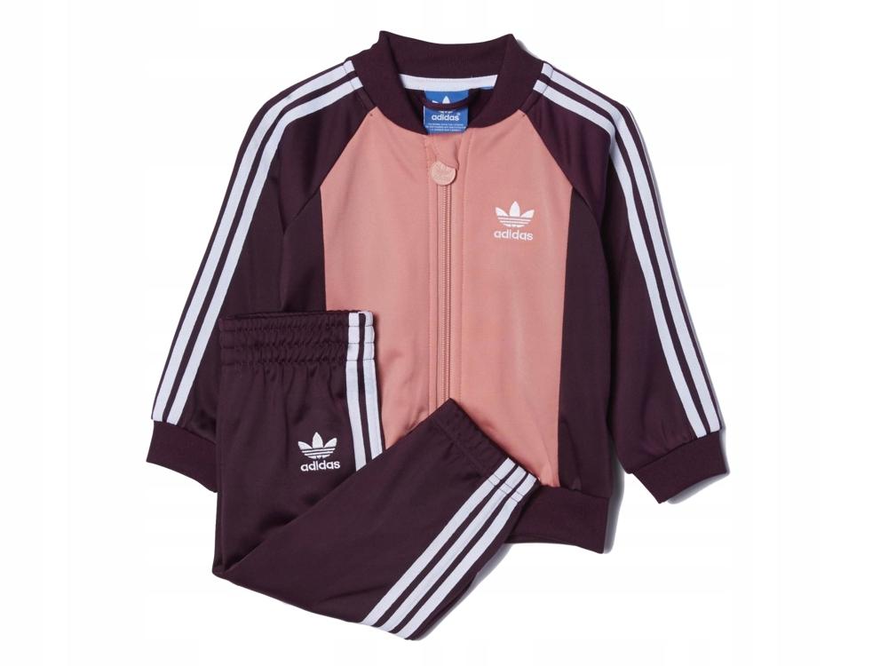 Dres dziecięcy Adidas AB1837 KOMPLET bluza spodnie