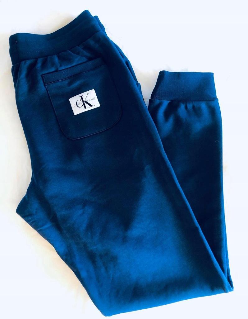 Spodnie dresowe Calvin Klein_granatowe_XL