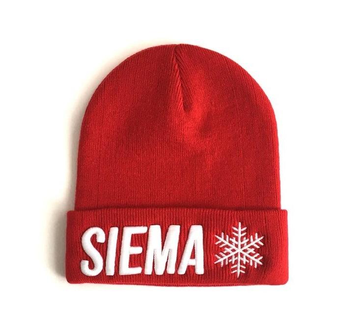 Czapka zimowa - SIEMA - dla WOŚP - SIEMA!