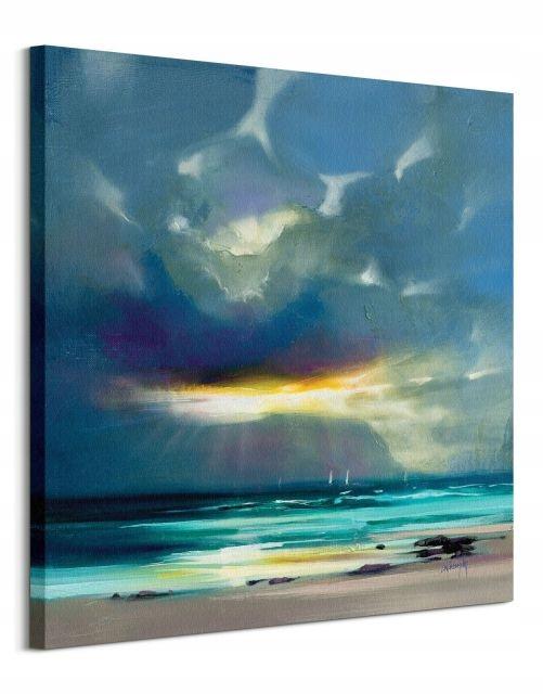 West Coast Blues II - obraz na płótnie 40x40 cm