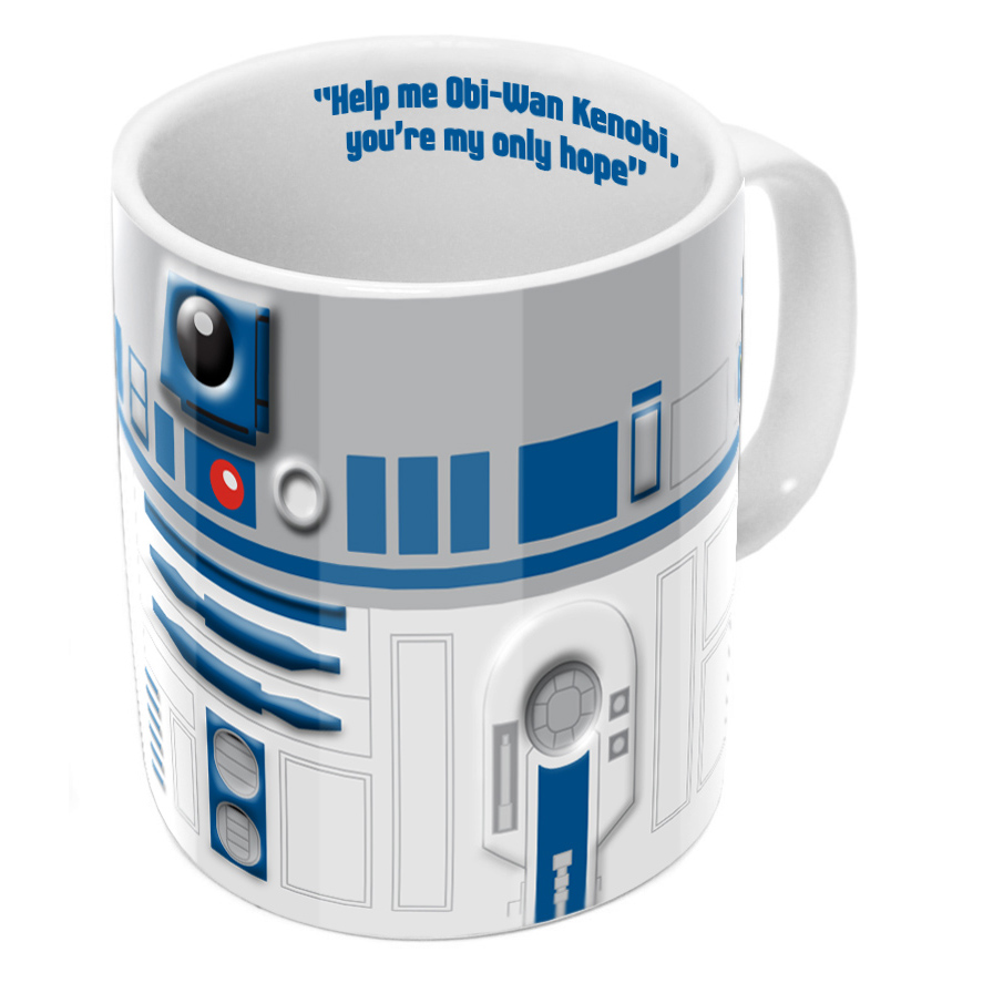 Kubek Star Wars Gwiezdne Wojny R2D2 Relief