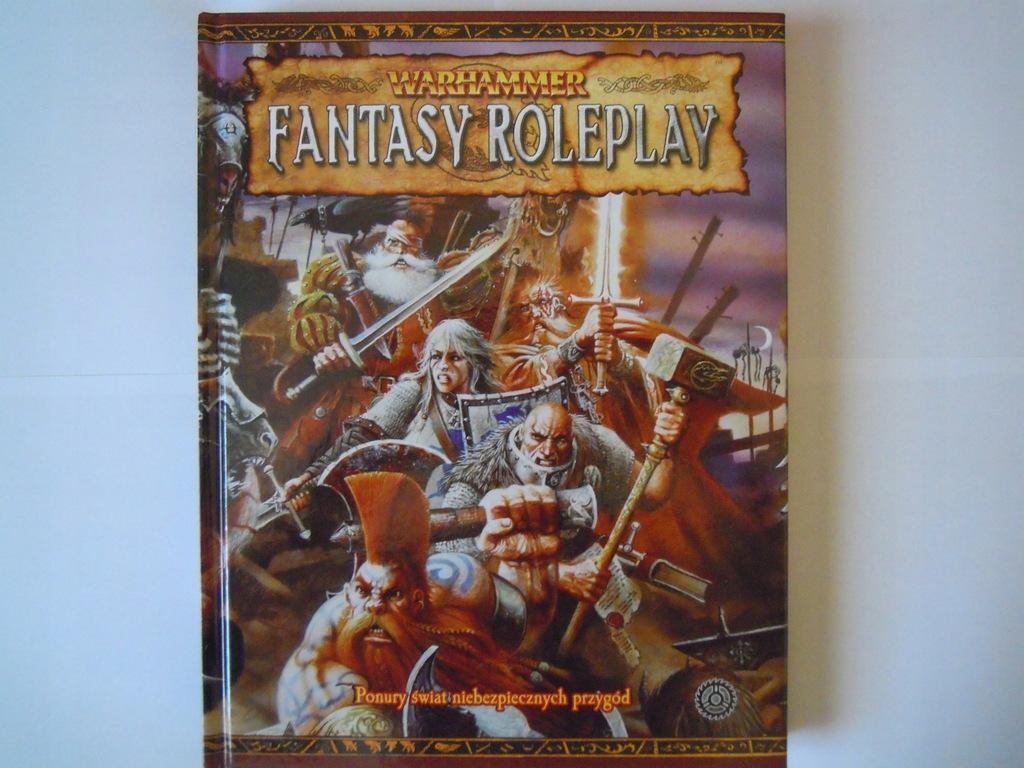 Warhammer fantasy roleplay podręcznik 2 edycja