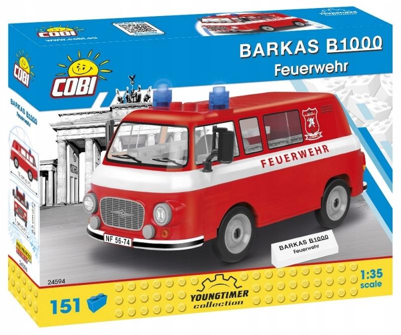 Cobi Klocki Klocki Youngtimer Barkas B1000